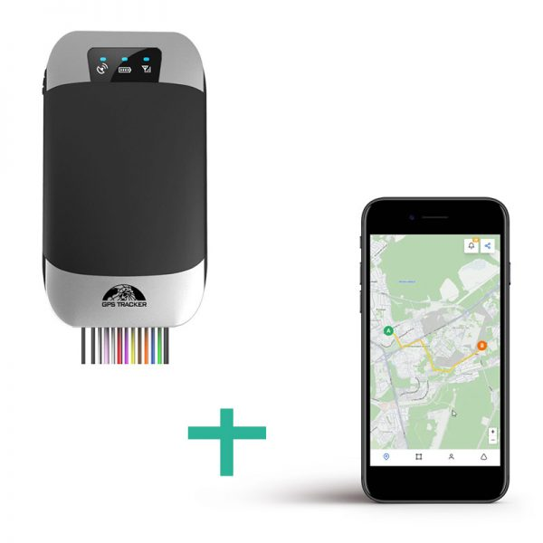 Lokalizator GPS TK303G + platforma online
