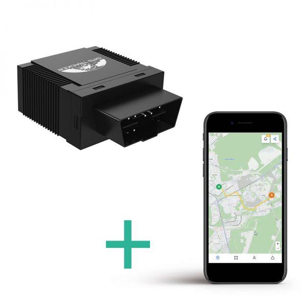 Lokalizator GPS TK-306A OBD II + platforma online