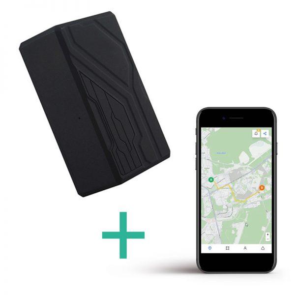 Lokalizator GPS TK-108B + Platforma online do śledzenia na żywo