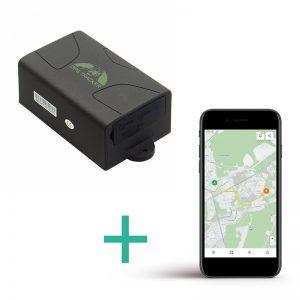 Lokalizator GPS Tk-104 + platforma online do śledzenia na żywo