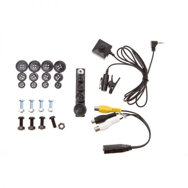 Mini kamera analogowa GUZIK/ŚRUBKA [BU-19] Lawmate